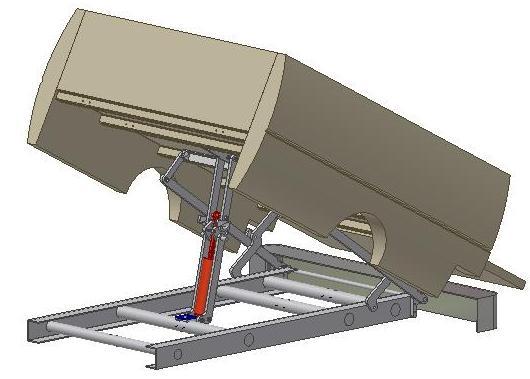 Dump Bed Tailgate Hinge Removable Pin : Stealth dump trucks